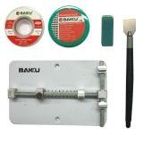 Зажим плат BAKU BK689A + оплетка (2шт) резинка
