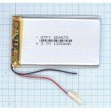 Аккумулятор Li-Pol (батарея) 3.5x45x75мм 2pin 3.7V/1200mAh
