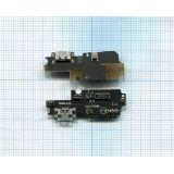 Нижняя плата Asus Zenfone 3 (ZC553KL) MAX 5.5 c разъемом для зарядки, микрофоном