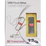 USB флеш-диск 32Гб TRANSCEND Jetflash V85, TS32GJFV85, металл