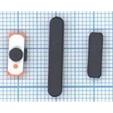 Комплект боковых кнопок для Apple IPad 3 черный