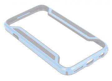 Bumper для Samsung Galaxy A7 металл. серебряный, коробка