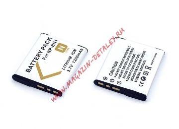 Аккумуляторная батарея (аккумулятор) NP-BN1 для фотоаппарата Sony Cyber-shot DSC-J 1200mAh 3,7V