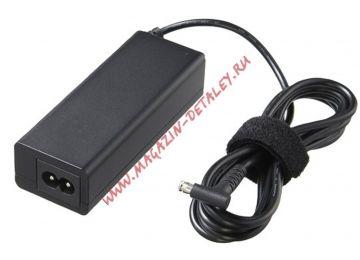 Блок питания (сетевой адаптер) VGP-AC19V73 для ноутбуков SONY 19.5V 2.0A черный, с сетевым кабелем Premium