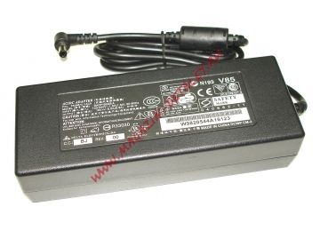 Блок питания (сетевой адаптер) для ноутбуков Toshiba 19V 6.3A 120W 5.5x2.5 мм черный, с сетевым кабелем