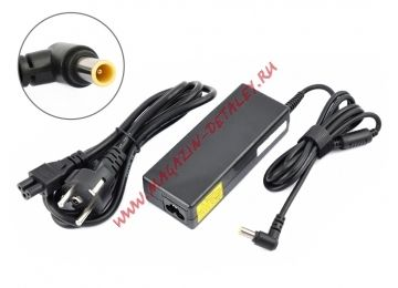 Блок питания (сетевой адаптер) VIXION для ноутбуков Sony 19,5V 4,74A 6,6х4,4 мм черный, с сетевым кабелем - купить в Брянске и Клинцах за 750 р.
