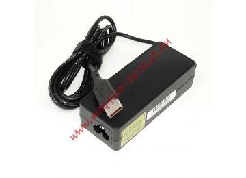 Блок питания (сетевой адаптер) для ноутбуков Lenovo 20V 2A 40W Power USB черный, с сетевым кабелем