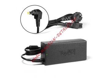 Блок питания (сетевой адаптер) TopOn для ноутбука Asus 19V 4.74A 90W 5.5x2.5 мм черный, с сетевым кабелем - купить в Москве и России за 952 р.