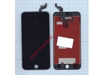 Дисплей (экран) в сборе с тачскрином для iPhone 6S Plus (Tianma) черный - купить в Москве и России за 1 600 р.