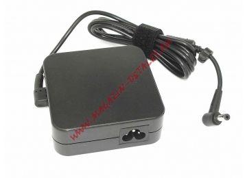 Блок питания (сетевой адаптер) для ноутбуков Asus 19V 4.74A 90W 5.5x2.5 (с кабелем) - купить в Москве за 1 010 р.