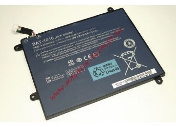 Аккумуляторная батарея BAT-1010 для планшета Acer Iconia Tablet A500 A200 7.4V 3260mAh черная