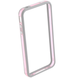 "Чехол (бампер) ""HOCO"" Coupe Series Double Color Bracket Bumper Case для Apple iPhone 6, 6s Plus белый"