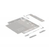 Рамка для матрицы и тачскрина Lenovo Yoga Tablet 8 B6000 серебристая