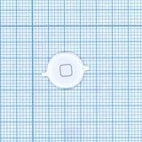 Кнопка HOME для Apple iPhone 4S белая