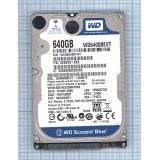 "Жесткий диск WD Scorpio Blue 2.5"" 640GB Sata-II WD6400BEVT"