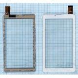Сенсорное стекло (тачскрин) для Mystery MID-713G, TeXet TM-7049, TM-7046, TM-7059,  Supra M722G, Onda V719 3G, Orro A960, Explay HIT 3G белый