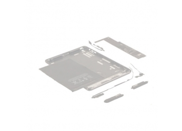 Задняя крышка Acer Iconia Tab A701/A700 черная