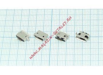 Разъем Micro USB для планшета тип USB 46 (RS-MI033) 5 pin