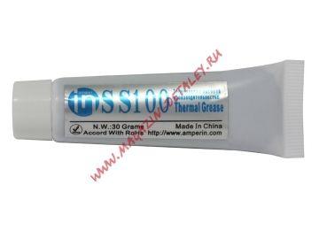 Термопаста Amperin SS100 30 грамм тюбик
