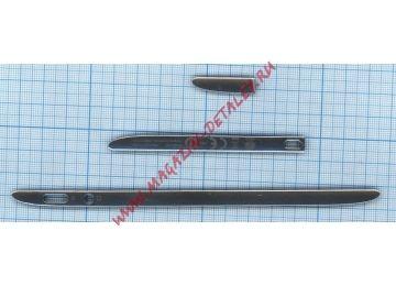 Боковые рамки (комплект 3 штуки) для Acer Iconia Tab A700 A701 сербристые