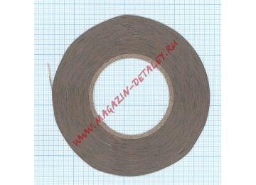 Скотч 3M 300LSE двухсторонний, прозрачный, ширина 2мм, длина 55м, толщина 0.13мм ORIGINAL