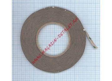 Скотч 3M 300LSE двухсторонний, прозрачный, ширина 8мм, длина 55м, толщина 0.13мм ORIGINAL