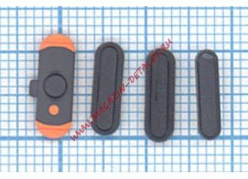 Комплект боковых кнопок для Apple IPad mini черный
